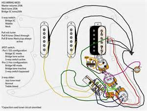 Professional Standard Strat Wiring Diagram 3 Single Coils