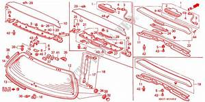 Honda Civic 1993 Parts Catalog