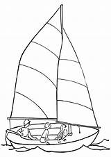 Sail Coloring Pages Sail3 sketch template