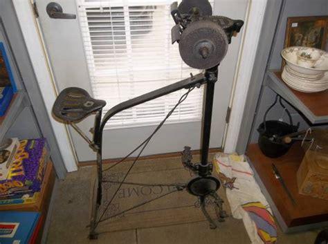 industrial pedal powered grinder