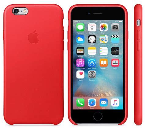 apple veroeffentlicht productred leder case fuers iphone