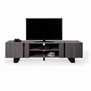 Lowboard 200 Cm : tv lowboard wildeiche massiv grau metall 200 edge ~ Yasmunasinghe.com Haus und Dekorationen