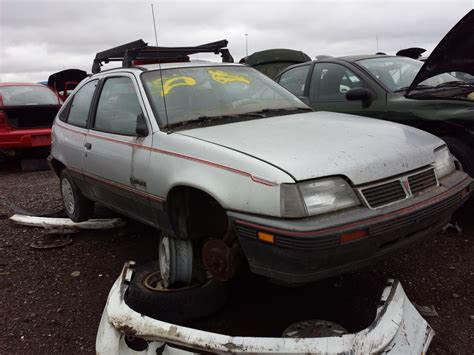 junkyard find 1988 pontiac lemans the truth about cars
