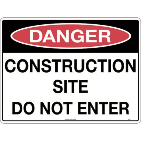danger signs safety signs tuffa products