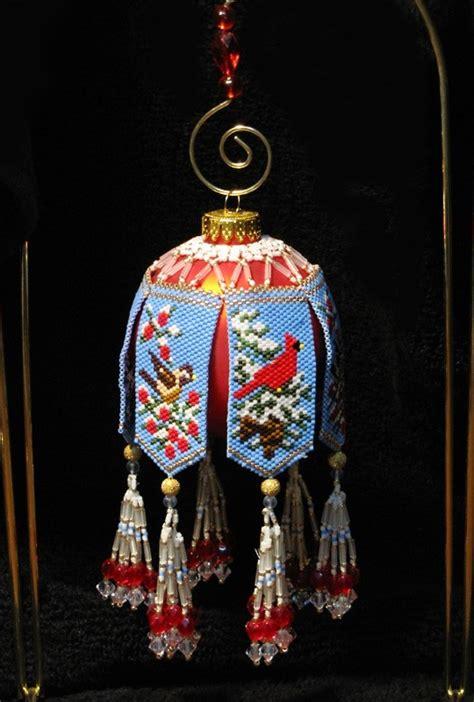 amazing christmas ornaments amazing beadwoven ornaments by christine heidema magic
