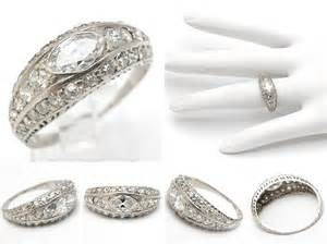 vintage style wedding bands cheap antique style wedding ring sets the wedding specialists