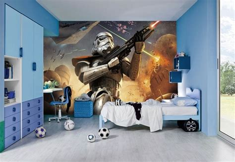 la chambre star wars faire une decoration  laide de