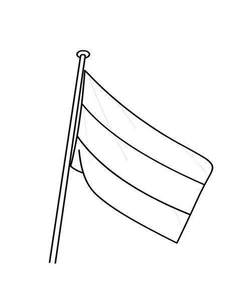 Circus Vlag Kleurplaat vlag kleuren is leuk