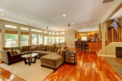warm cherry hardwood flooring home ideas collection
