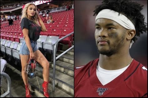 ig model mackenzie dipman shoots  shot  kyler murray