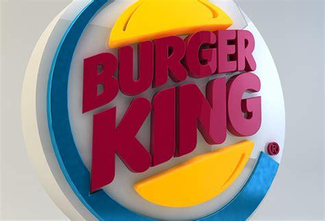 Burger King 3d Logo On Behance