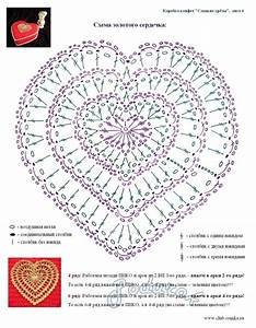 137 Best Images About Crochet Hearts On Pinterest