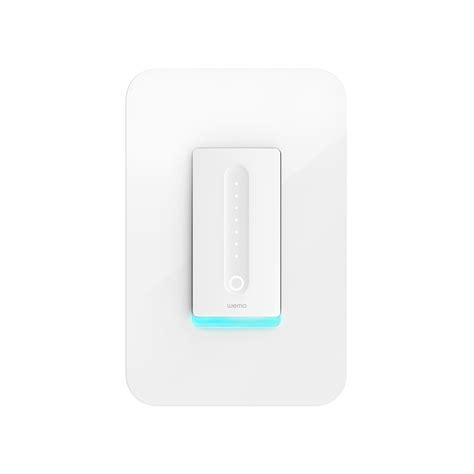 wemo 3 way light switch wemo dimmer wi fi light switch works with