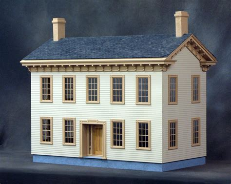 dollhouse kit dollhouse kits wooden dollhouse heirloom quality  vermont