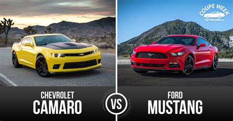 Chevrolet Camaro Vs Ford Mustang by Best Pony Car Ford Mustang Vs Chevrolet Camaro
