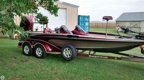 Used Bass Boats For Sale Oklahoma by 2006 Used Ranger Boats Z 20 Comanche Bass Boat For Sale