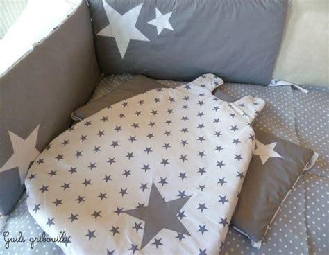 tour de lit bebe etoile reserve tour de lit et gigoteuse etoile gris blanc tour de lit and