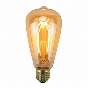 Ampoule Vintage Led : ampoule filament led e27 vintage ambr e ~ Edinachiropracticcenter.com Idées de Décoration