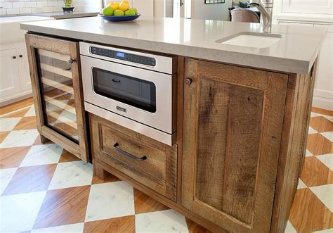 wooden kitchen islands 20 gorgeous ways to add reclaimed wood to your kitchen
