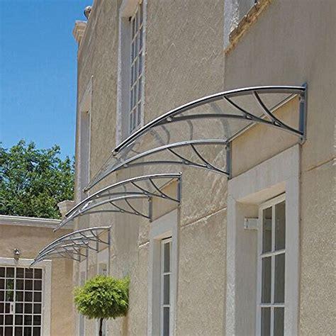 zeny   window awning overhead door polycarbonate cover front door outdoor patio canopy