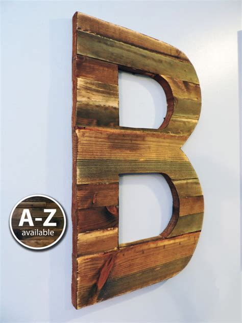 rustic letters for wall large wood letters rustic letter cutout custom wooden wall