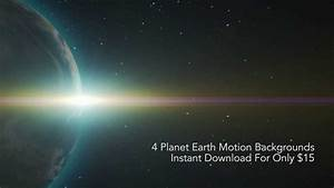 Motionbackgrounds.co - Planet Earth Digital Download - YouTube
