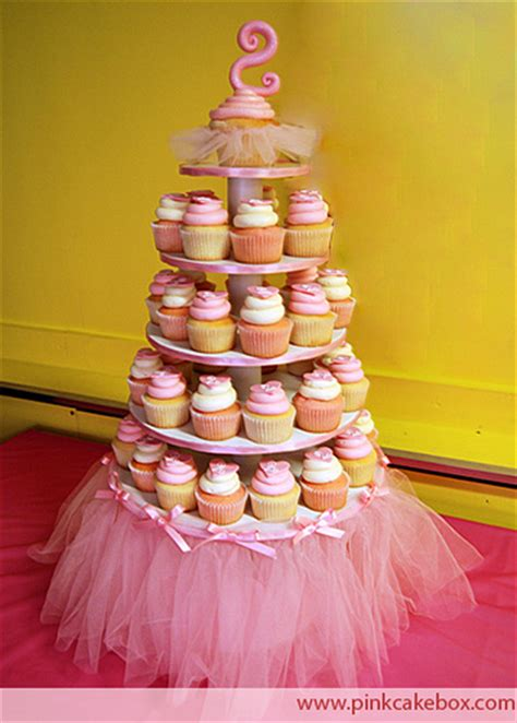 Cupcake Stand For 100 Cupcakes by Tutu Cupcake Stand We Created This 5 Tier Tutu Cupcake