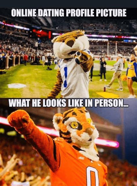 funny clemson mascot memes big  kybg fm