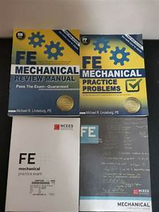 Fe Mechanical Review Manual  Lindeburg  Practice Probems 2