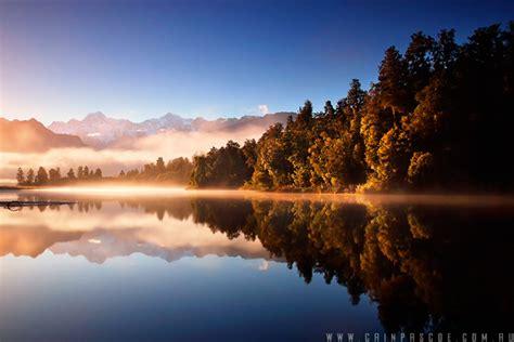 beautiful landscape reflection  images
