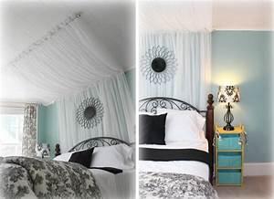 Tete De Lit Rideau : 10 id es de ciel de lit diy pour cr er votre lit ~ Preciouscoupons.com Idées de Décoration