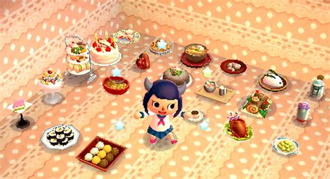 fave items time   acnl food