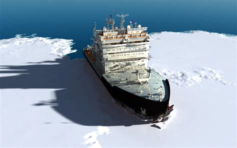 Ship Route by Arctic Ship Route May Be Safer With Anglo Russian Radio Waves