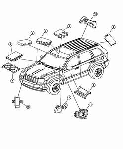 Jeep Grand Cherokee Parts Diagram