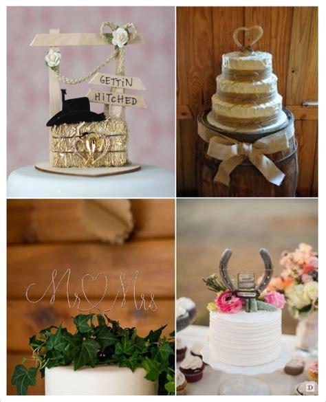 figurine montee mariage country chic wedding western theme wedding and decoration