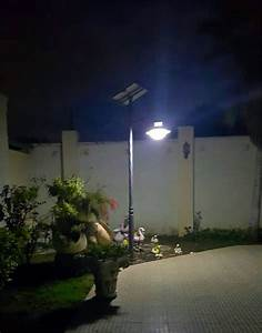10w solar garden light in a villa in kenya shenzhen cbc With outdoor solar lights kenya