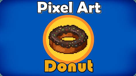 Pixel Donut By Supermaruq On Deviantart