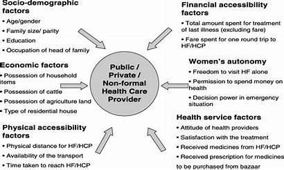 Framework Determinants Conceptual Health Kroeger Seeking Studying