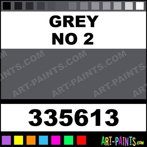 Grey No 2 Designer Gouache Paints  335613  Grey No 2 Paint, Grey No 2 Color, Holbein Designer