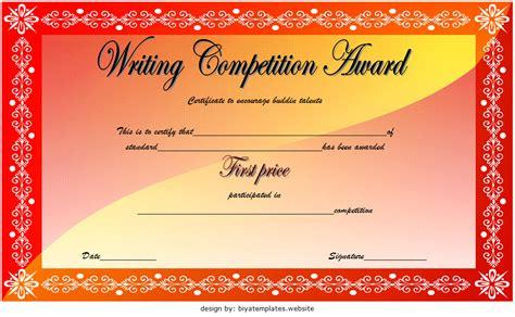 winner certificate template ideas