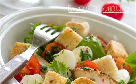 Zaļie salāti ar vistu - Jauns.lv