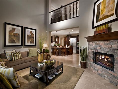 homes interiors dining rooms design model homes interior photo galleries