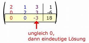 Koeffizient Berechnen : mathe g33 lgs mit gau verfahren l sen matheretter ~ Themetempest.com Abrechnung