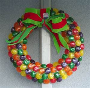 20 Easy Ways to Make a Candy Wreath