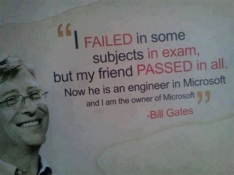 I failed in some......... | Bill gates quotes, Bill gates ...