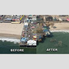 Before And After Sandy Photos In New Jersey, New York