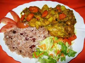 Jamaican Curry Chicken and Rice Recipe