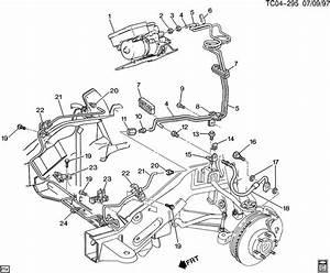 Chevrolet K2500 Brake Lines  Front