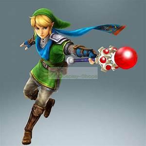 Custom Cheap Hyrule Warriors Legend of Zelda Link Fire Rod ...