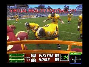 Wait?! There's A Football Full Motion Video Game? - YouTube